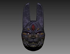 Ghost Of Tsushima - Legends Assassin Mask 3D print model