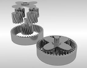 3D Planetary gears