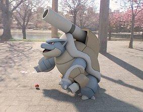 3D asset Pokemon Mega Blastoise