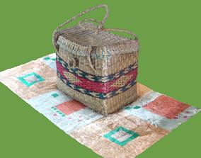 3D Ecuadorian Basket scan in some formats cycles