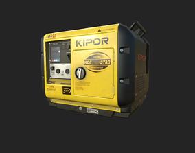 3D asset PBR generator