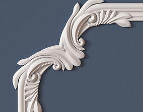 classical Molding Corner 3D