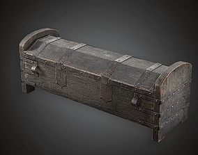 Wooden Chest - MVL - PBR Game Ready 3D model