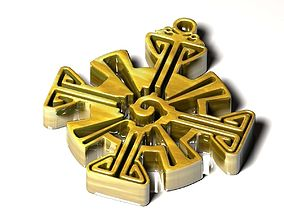 3D printable model Hunab Ku Pendant