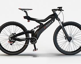 Electric bike 3D model vehicle