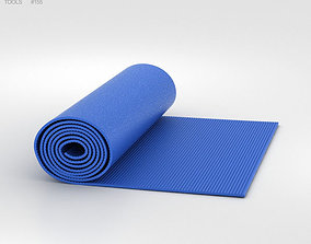 Yoga Mat 3D model yoga