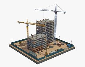 Under Construction Scene 2 3D model