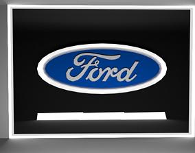 FORD LOGO 3D asset