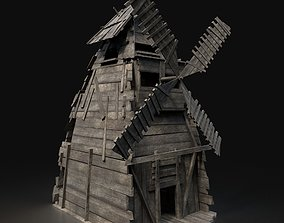 Next Gen AAA Viking Wooden Enterable Fantasy 3D asset