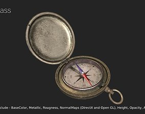 3D model game-ready Compass