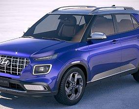 Hyundai Venue 2020 3D