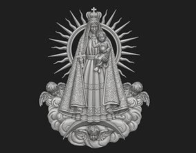 Virgen de la Caridad del Cobre Pendant 3D print model