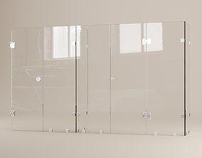 3D model Bathroom glass accessories