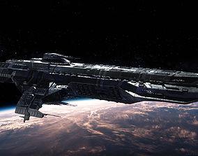 3D model Paladin Battleship