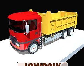 Lowpoly truck01 3D model