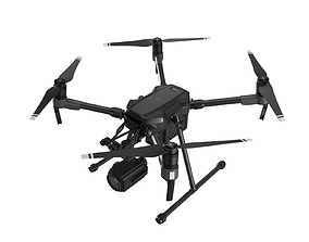 3D DJI Matrice 200 Series with Zenmuse Z30