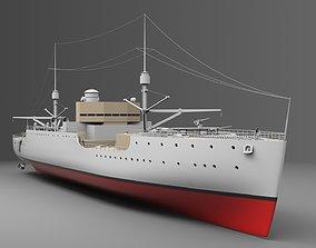 3D model Watercraft 5 - USS Vestal