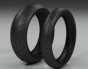 3D asset Bridgestone Battlax s20