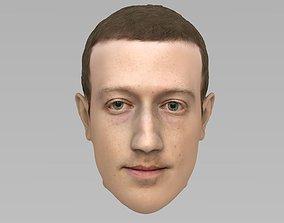 3D model Mark Zuckerberg