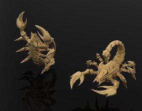 Scorpion 100 3D print model