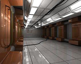 3D asset Engineering Hallway