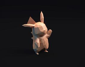 3D printable model Pikachu