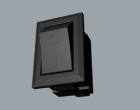 POWER BUTTON Switch 3D model