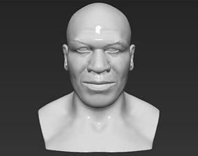 Mike Tyson bust 3D printing ready stl obj