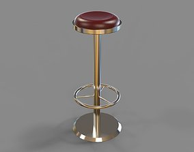 3D model Bar chair 3