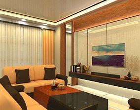 3D 3dmodel Living Room