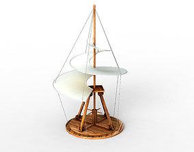 3D Leonardo da Vinci Flying Machines