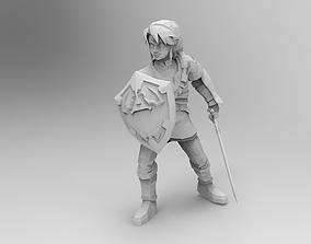 3D printable model Link The Legend of Zelda