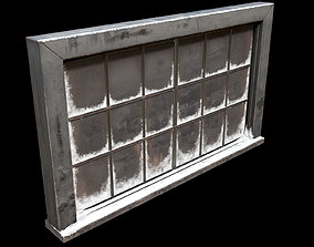 3D model Frosted window