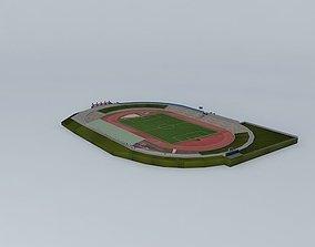 3D model Stadion TJ Trinec