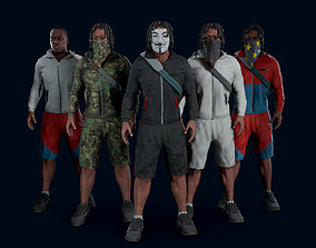 Modern character 3 3D model