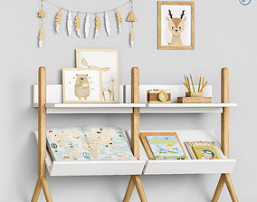 3D model Toys and furniture set 59