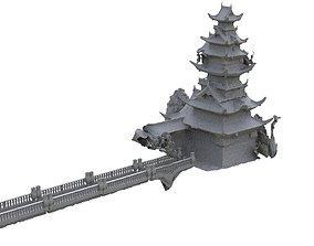 3D Japan Tower 1
