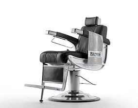 3D Bullfrog Barber Chair