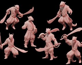 Pirate Kobolds 3D printable model