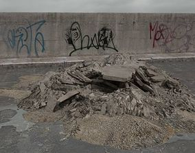 3D model rubble 028 am165