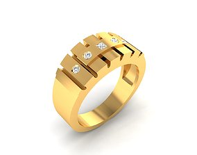 Women Band Ring 3dm render detail jewelry
