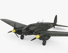 aircraft 3D Heinkel He 111