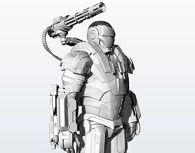3D printable model Statue War Machine Very High quality
