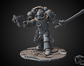 3D print model One from a Palatine Blades squad of The 1