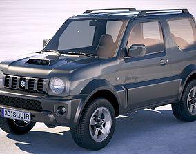 3D model Suzuki Jimny 4Work 2010-2018