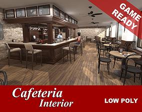 Cafeteria Interior 3D model