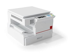 Copy Printing Machine 3D model
