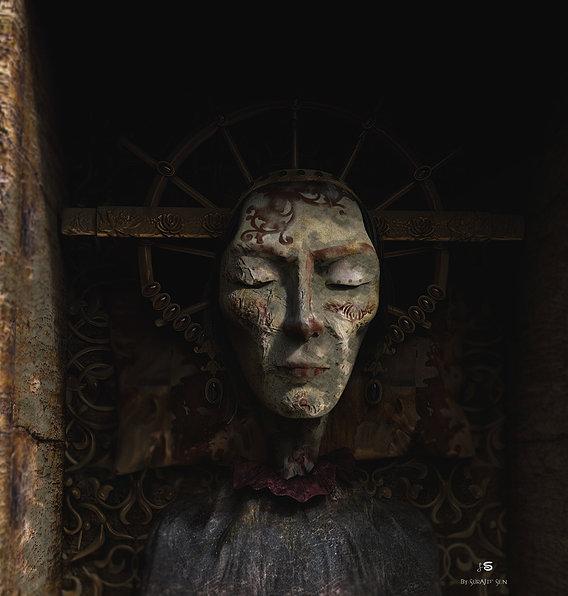 Sleeping_Queen_Digital_Sculpture_SurajitSen