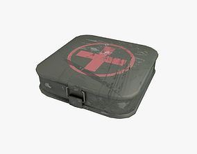First Aid Kit Military 3D asset