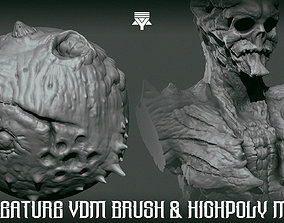3D model Creature made with VDM brush